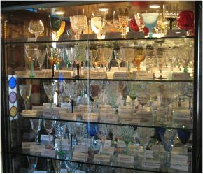 Stemware display